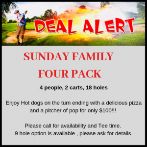 Sunday Family Four Pack